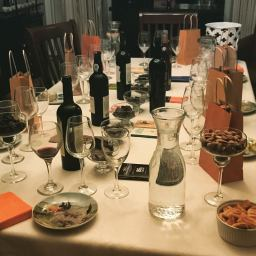 Our Night of Wine and Chocolate